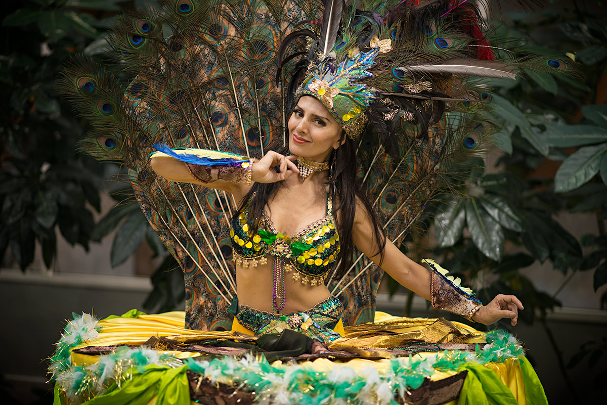 Brazilian Carnival Living Table