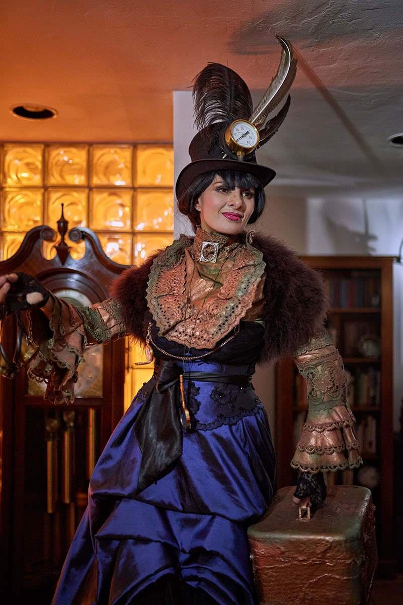 Steam Punk Living Statue