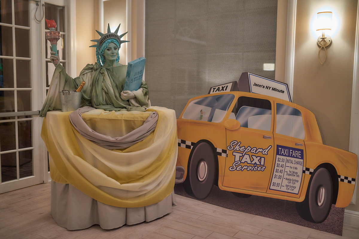 Statue of Liberty Living Table
