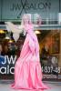 Pink Godiva Living Statue
