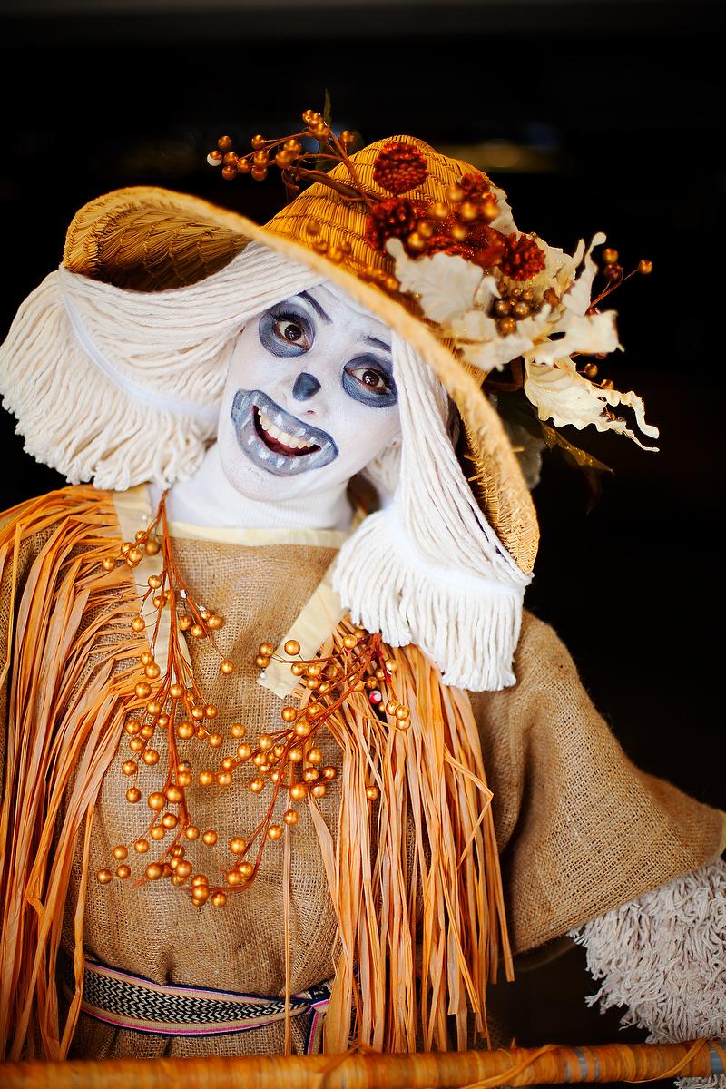 Pumpkin Patch Scarecrow