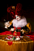 The Queen of Hearts Living Table