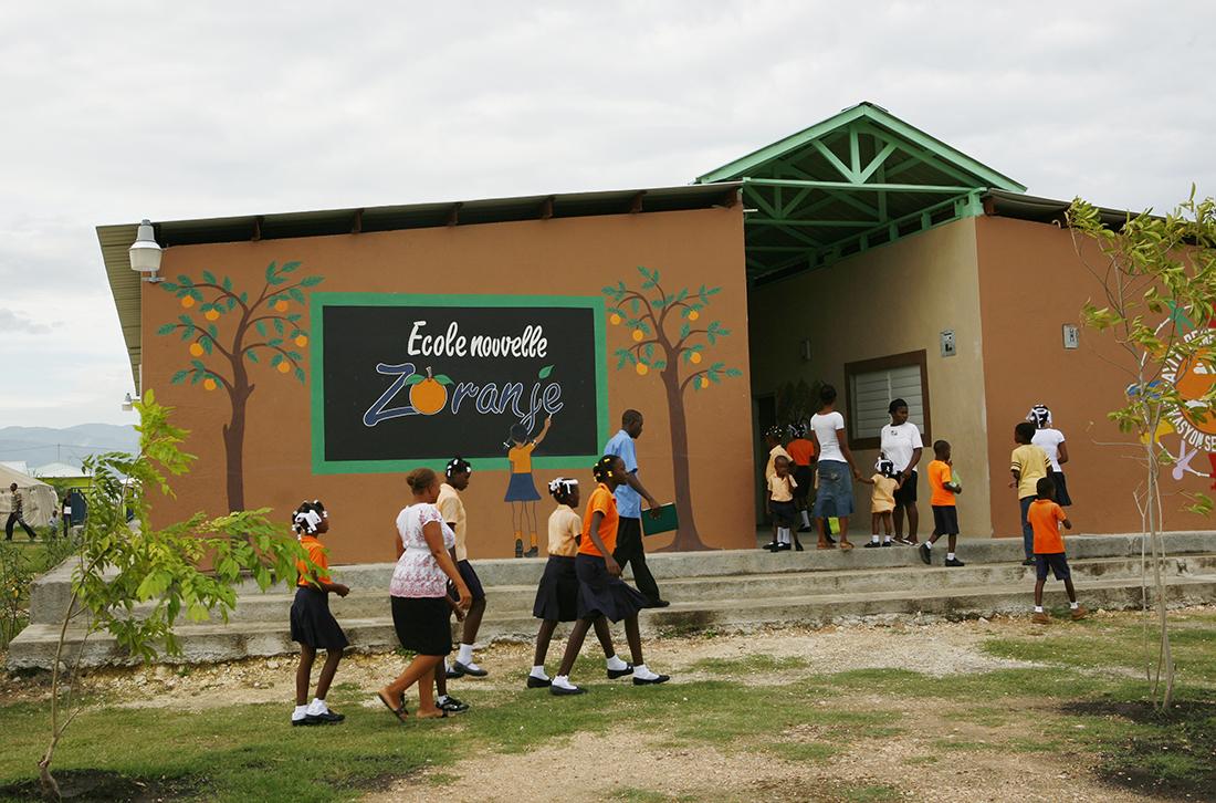 Ecole Nouvelle ZoranjeVillage de La Renaissance, ZoranjeFounded: October 2010 Grades: Kindergarten - 9th GradeEnrolled: 552 students