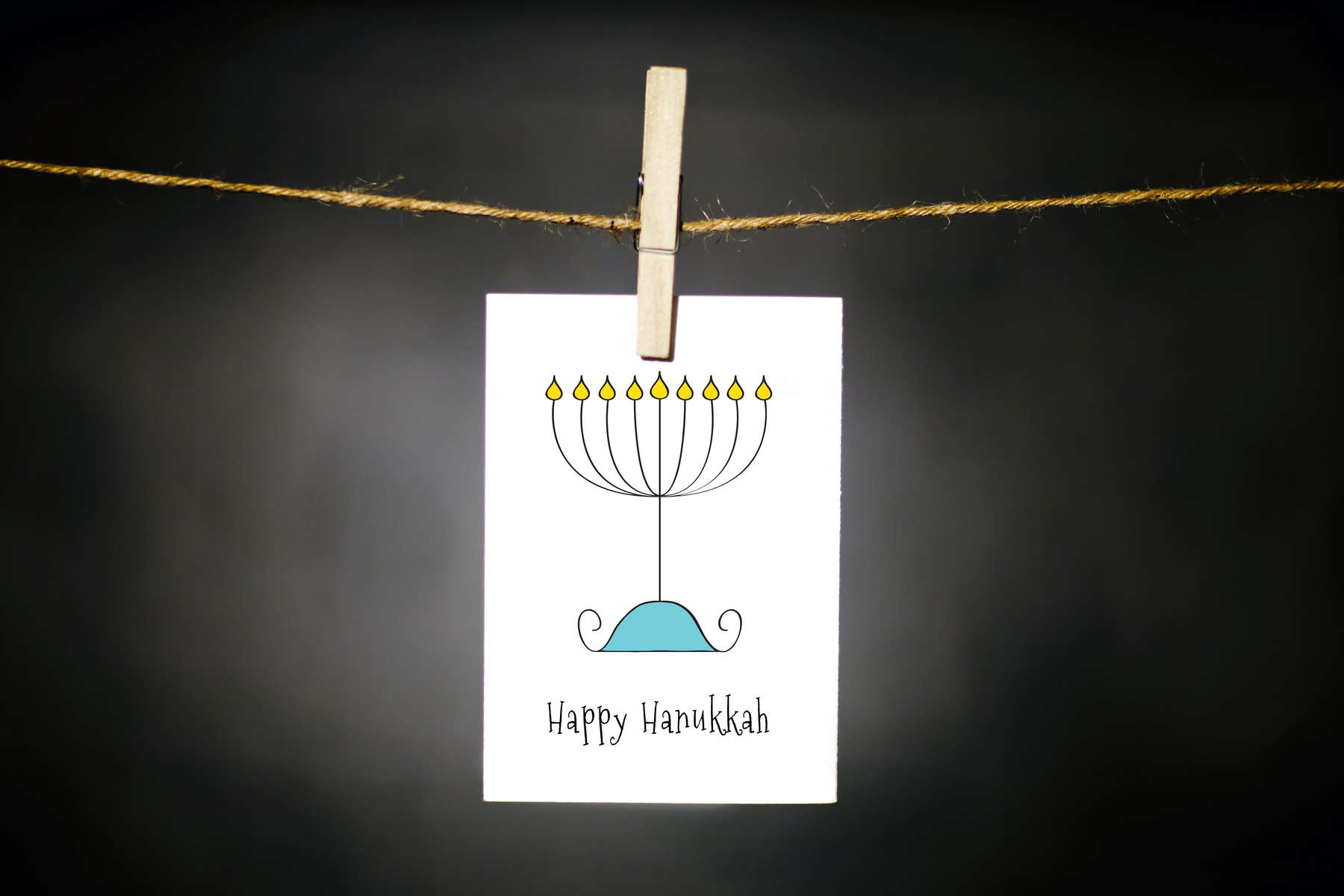 pURCHASE hEREnothing says hannukah like a festive little menora.  each card:is printed on 100# recycled + responsibly-sourced paper //measures 3.5{quote} x 5{quote} //is accompanied by a recycled kraft paper 4-bar envelope // professionally printed //individually packaged in sealed cellophane sleeve //crafted + printed in colorado, usa.