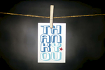 pURCHASE hEREthank you... plain + simple.each card: is printed on 100# recycled + responsibly-sourced paper //measures 3.5{quote} x 5{quote} //is accompanied by a recycled kraft paper 4-bar envelope // professionally printed //individually packaged in sealed cellophane sleeve //crafted + printed in colorado, usa.