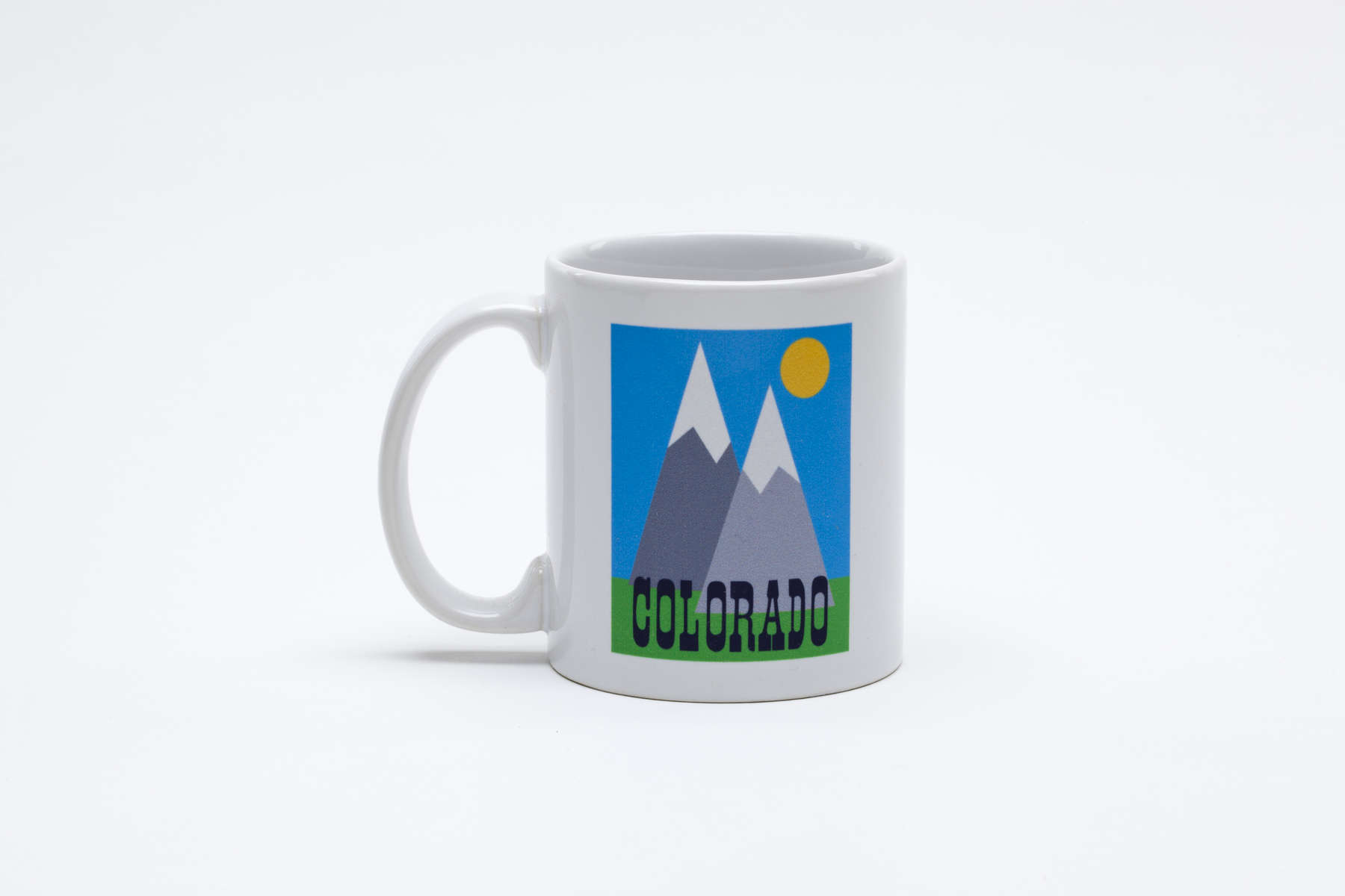 pURCHASE hEREcolorado... what's not to love?!can you think of a better way to start your day off than with this cheery little mug?  let's face it, your morning cup of joe would taste a million times better in an original doodlegirl designs' beverage vessel.  and if, by chance, you are not into coffee, this one works just as well for tea or water or even whiskey (although we don't condone morning boozing, unless it's a very special occasion!).so, why not pick one up for yourself (and for a friend) today?!dishwasher + microwave safe.
