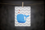 pURCHASE hEREthis super cute whale is sure to spruce up any kid's room or nursery.  the 8x10{quote} print is an original DoodleGrl Designs illustration.  packaged with a cardboard backing // wrapped in a cellophane sleeve.crafted + printed in colorado, usa.