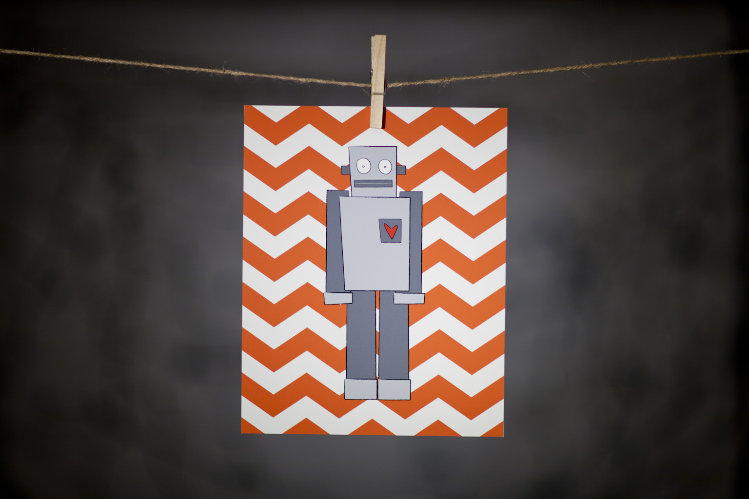 pURCHASE hEREthis super cool robot is sure to spruce up any kid's room or nursery.  the 8x10{quote} print is an original DoodleGirl Designs illustration.  packaged with a cardboard backing // wrapped in a cellophane sleeve.crafted + printed in colorado, usa.