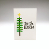 purchase heretis the season... and all that jazz // this brand new holiday card is simple, yet festive... snag yours now while they're still in stock!each card is:printed on 100# recycled + responsibly-sourced paper //measuring 3.5{quote} x 5{quote} //accompanied by a recycled kraft 4-bar envelope //professionally printed on a digital press //individually packaged in sealed cellophane sleeve //made with mad love in colorado, usa.