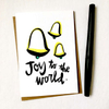 purchase hereou can almost hear those bells, right?! // this brand new holiday card is perfect for spreading a little joy to the world // snag yours now while they're still in stock!each card is:printed on 100# recycled + responsibly-sourced paper //measuring 3.5{quote} x 5{quote} //accompanied by a recycled kraft paper 4-bar envelope //professionally printed on a digital press //individually packaged in sealed cellophane sleeve //made with mad love in colorado, usa.
