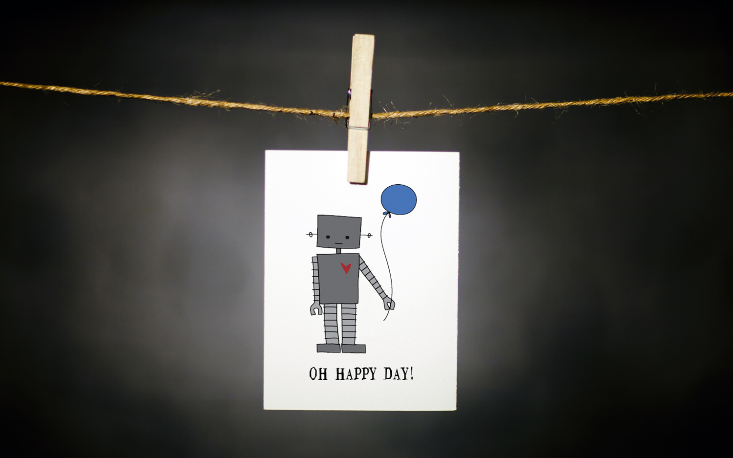 pURCHASE hEREthis super fantastic little robot loves celebrating the happiest of days, but birthdays are his absolute favorite!each card:is printed on 100# recycled + responsibly-sourced paper //measures 3.5{quote} x 5{quote} //is accompanied by a recycled kraft paper 4-bar envelope // professionally printed //individually packaged in sealed cellophane sleeve //crafted + printed in colorado, usa.