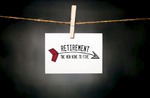 pURCHASE hEREretirement is to be celebrated!  if someone you know + love is getting ready to enjoy the new 9-5, why not congratulate them with a little paper cheer.each card:is printed on 100# recycled + responsibly-sourced paper //measures 3.5{quote} x 5{quote} //is accompanied by a recycled kraft paper 4-bar envelope // professionally printed //individually packaged in sealed cellophane sleeve //crafted + printed in colorado, usa.