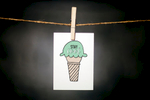 pURCHASE hEREstay cool, yo.  this is a perfect greeting for all sorts of occasions... or for no occasion at all.  send it as a happy birthday or a graduation congrats or a celebration of summertime fun.  whatever the reason, everyone loves a little paper cheer.each card:is printed on 100# recycled + responsibly-sourced paper //measures 3.5{quote} x 5{quote} //is accompanied by a recycled kraft paper 4-bar envelope // professionally printed //individually packaged in sealed cellophane sleeve //crafted + printed in colorado, usa.