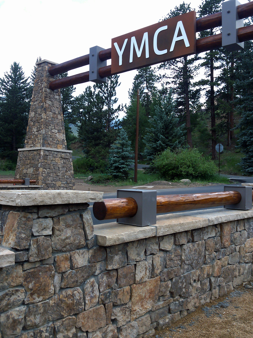 YMCA Entry Gateway and bridge