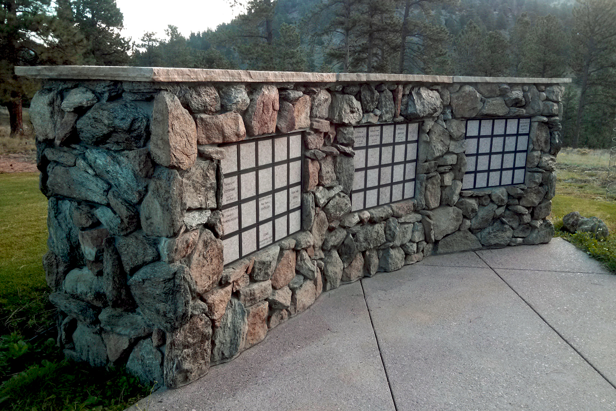 YMCA niche wall
