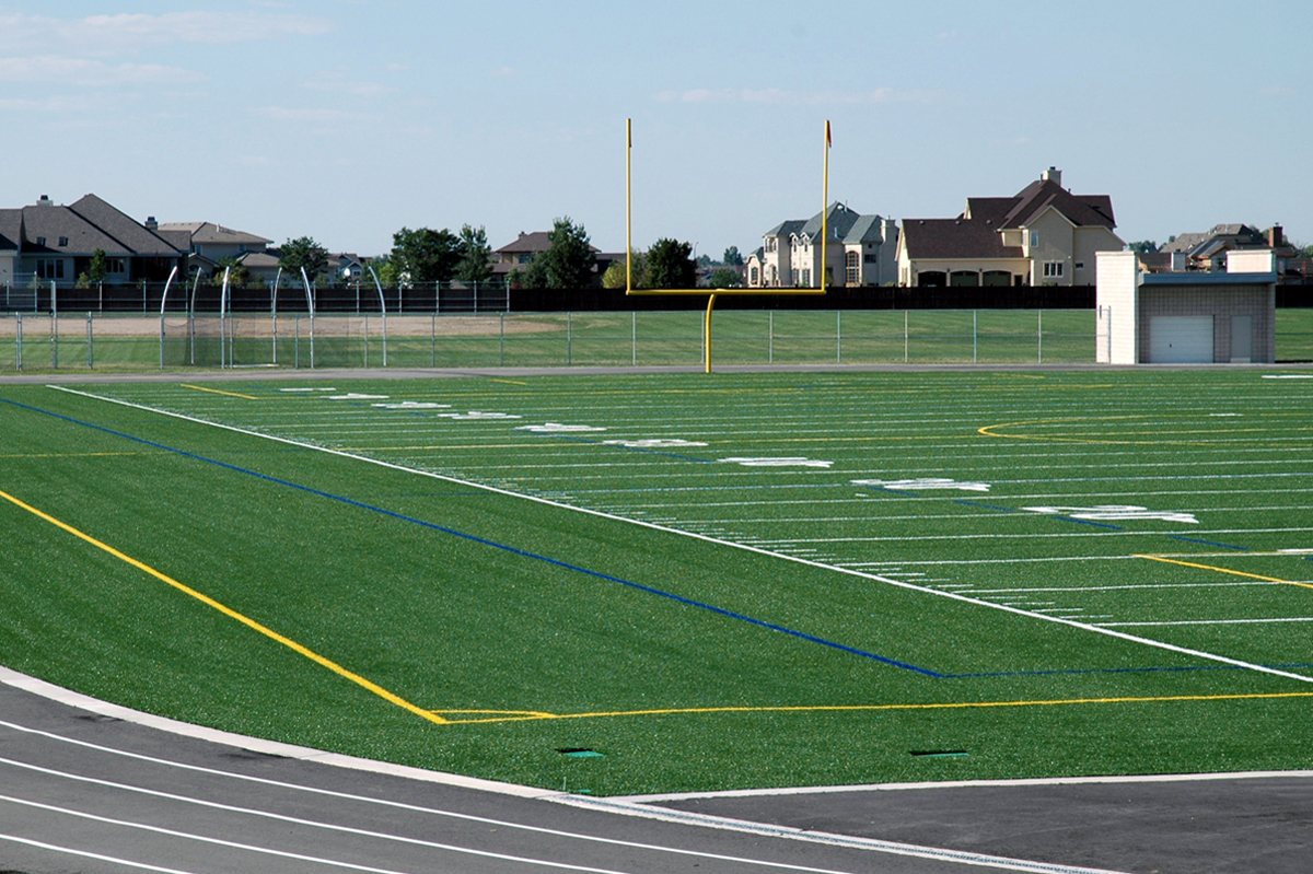 Synthetic turf multi purpose field