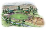 Tilghman Park Illustration