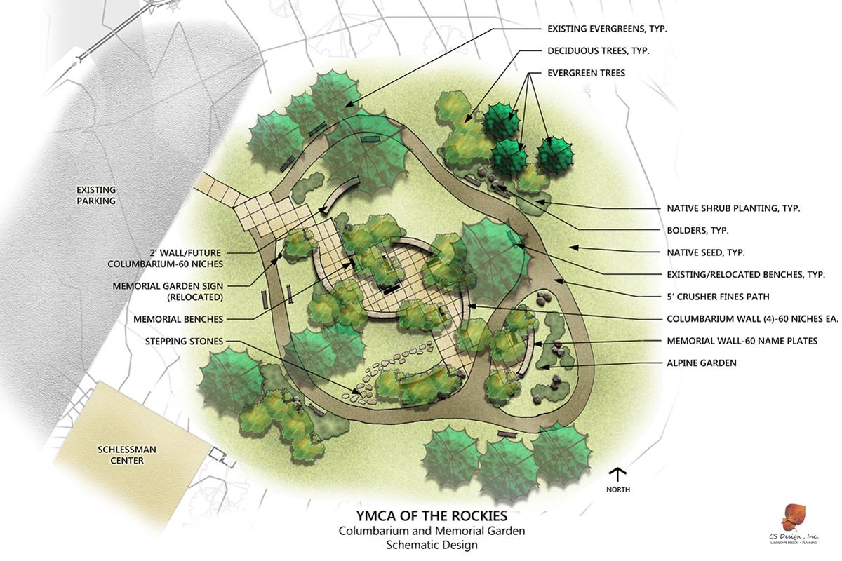 YMCA Memorial Garden: Memorial : Projects: CS Design Landscape .