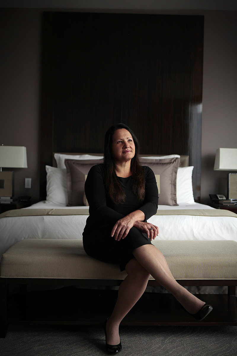 Shelly Carlin, Senior Vice President of Human Resorces for Motorola, poses for a portrait at Trump Tower in Chicago Illinois, on October 30, 2013. Manuel Martinez/Crain's Chicago Business