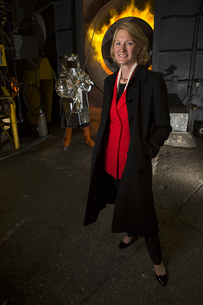 Marion Cameron, President of Sipi Metals Corporation, poses for a portrait on January 22, 2014.  Manuel Martinez/Crain's Chicago Business