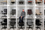 Mason Awtry,  President of Rightsize Facility Performance poses for a portrait at his warehouse in Chicago on January 20, 2015. Manuel Martinez/Crain\'s Chicago Business