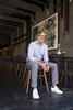 Nick Kokonas poses for a portrait in his Chicago restaurant Roister on September 14, 2017. Manuel Martinez/Crain's Chicago Business