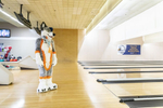 "Every few weeks a group of Chicago-area furries gather at a local bowling alley to socialize. The Midwest Furbowl brings in an average of 70 people, twice a month at Polar Creek Bowl Lanes.""Lemonbrat is a boutique manufacturer that makes fursuits – full-body, stylized animal attire worn by a group of people who call themselves ""furries."" Lemonbrat's suits retail for up to $5,000. The company's team of 16 tailors, designers and molders churn out 20 to 30 suits a month – they say they're one of the largest fursuit makers in the country. March 23, 2019. Manuel Martinez/WBEZ"