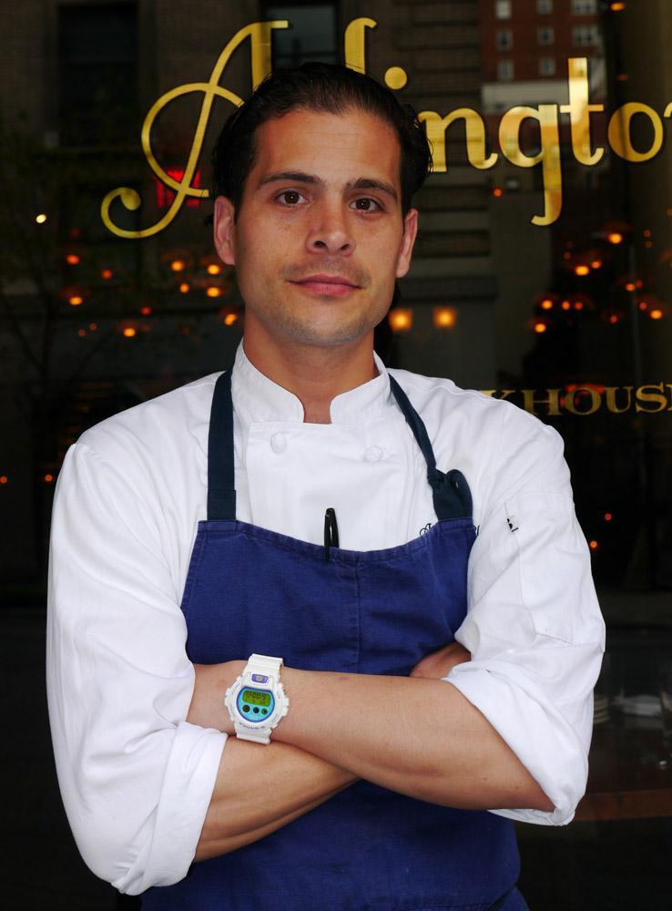 Frank Cervantes, Executive Chef of Arlington Club