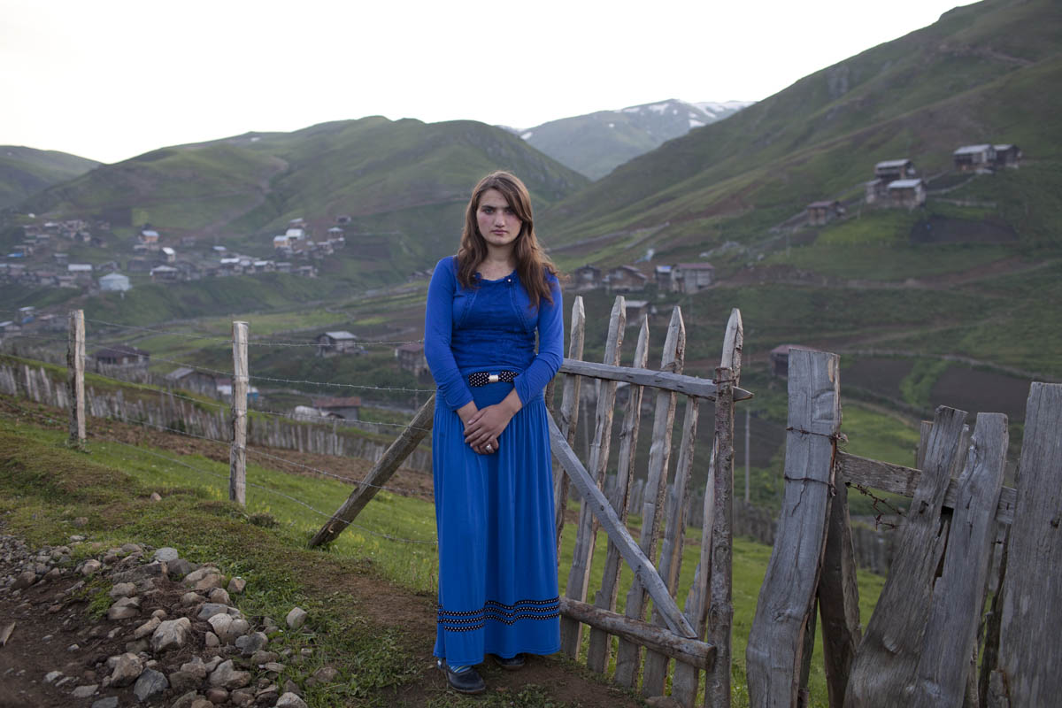 Mari, 15, lives in the Adjara region. Most girls her age drop out of school to get married. Her grandmother believes it's a tradition meant to be passed down.