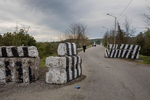 2017. Georgia, On the road to Enguri checkpoint, which is counted to be the only remaining checkpoints between the de facto region of Abkhazia and Georgian controlled territory. It is almost unreal to cross with a Georgian Passport.