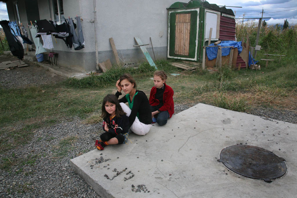 GEORGIA.  2010. Tserovani. A New  village built by the Georgian government to house Georgians who were forced to flee South Ossetia when the Russians invaded.