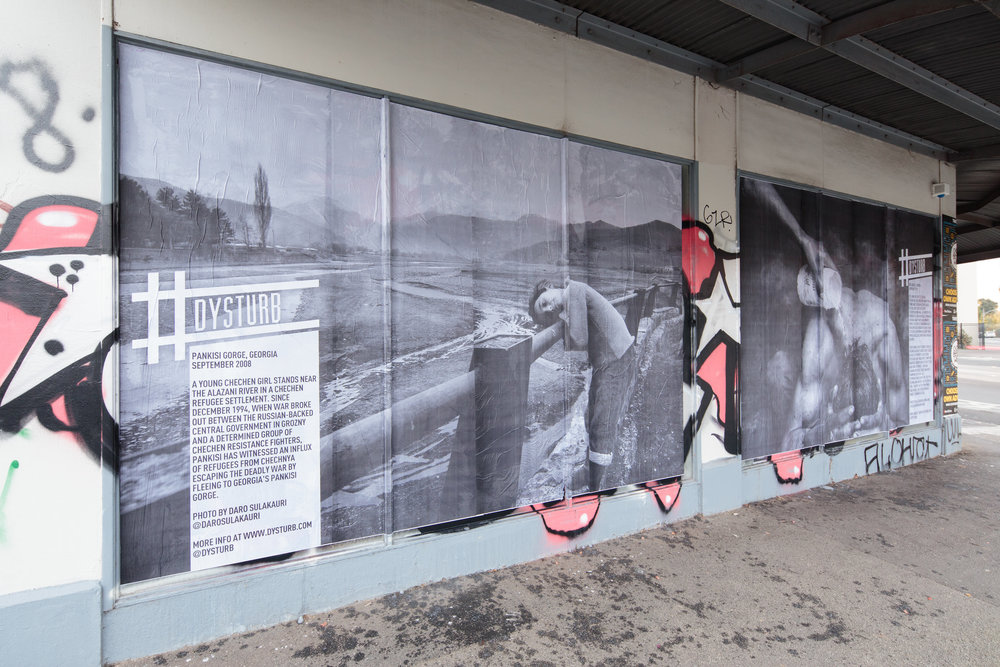 #Dysturb to the streets of Melbourne with large-scale photojournalism in its streets with a parallel exhibition at Hillvale Gallery.http://www.dysturb.com/journal/2017/5/14/where-i-lay-my-head