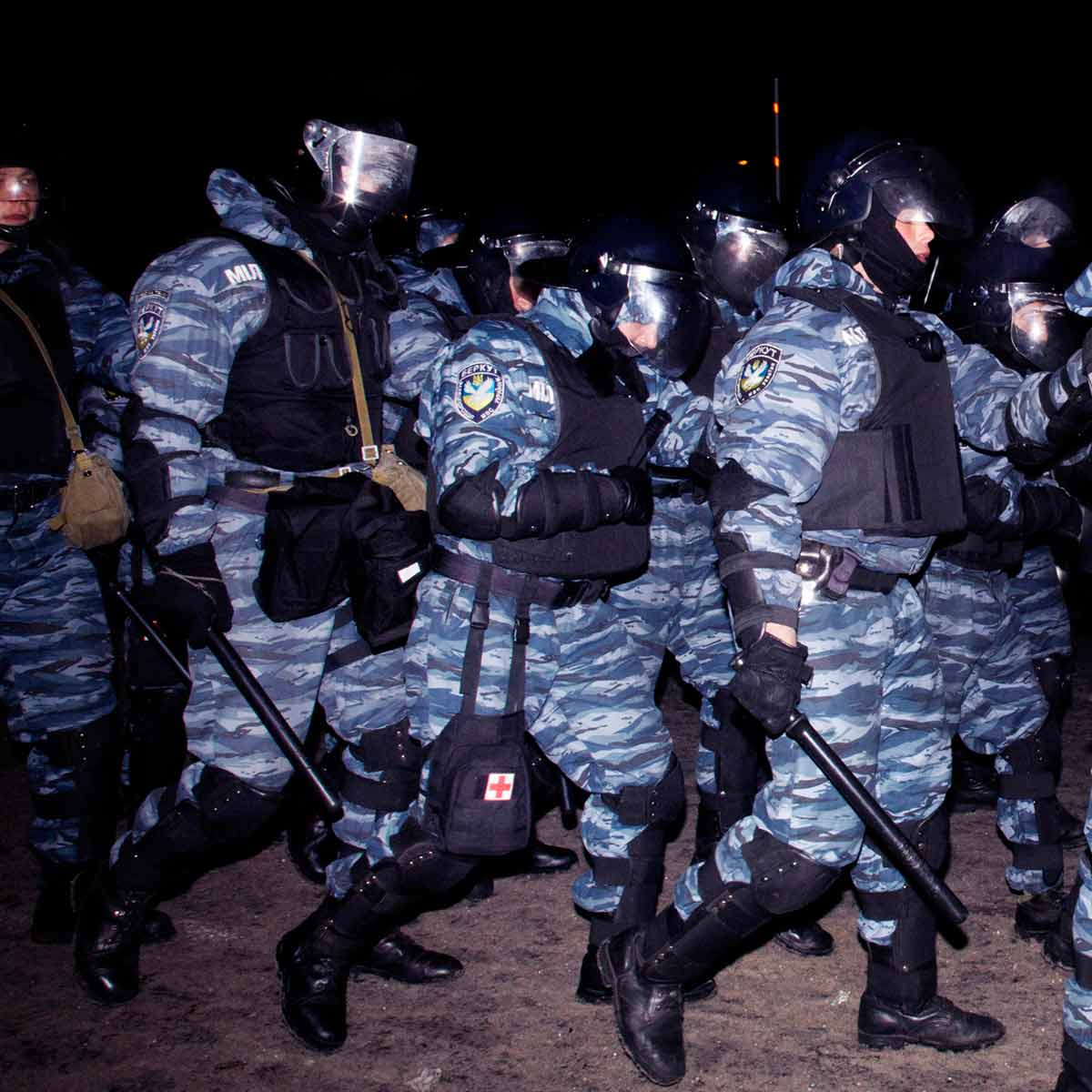 Civil Unrest in Kiev began on the night of 21 November 2013 with public protests demanding closer European integration.