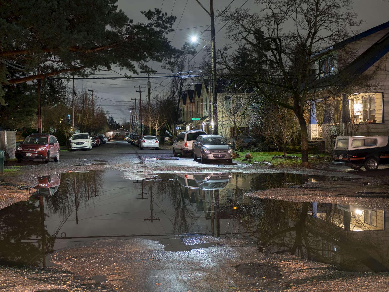 NE Portland Streets