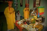 Buddhist Priests, Tet New Year