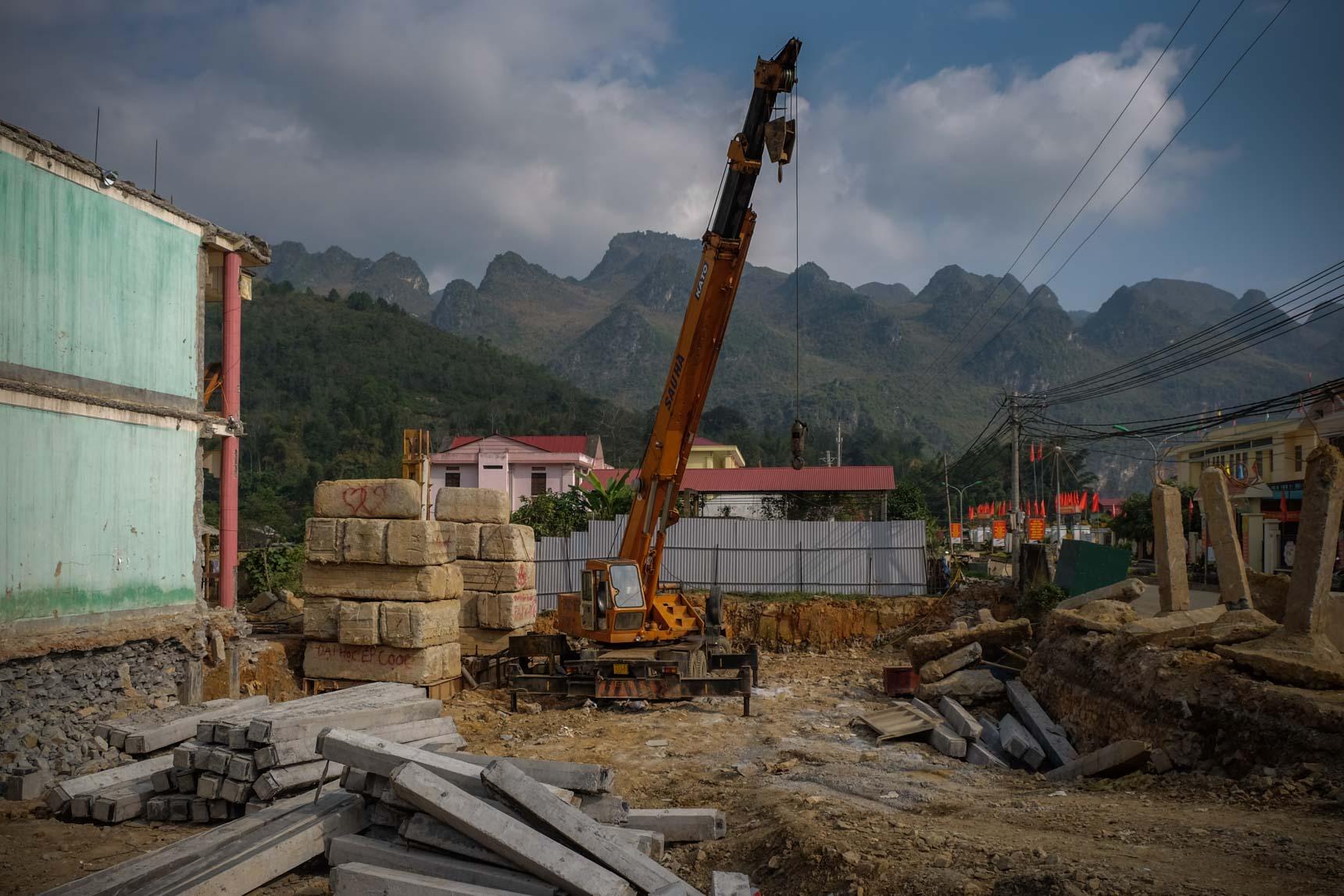 Yên Minh Town Construction