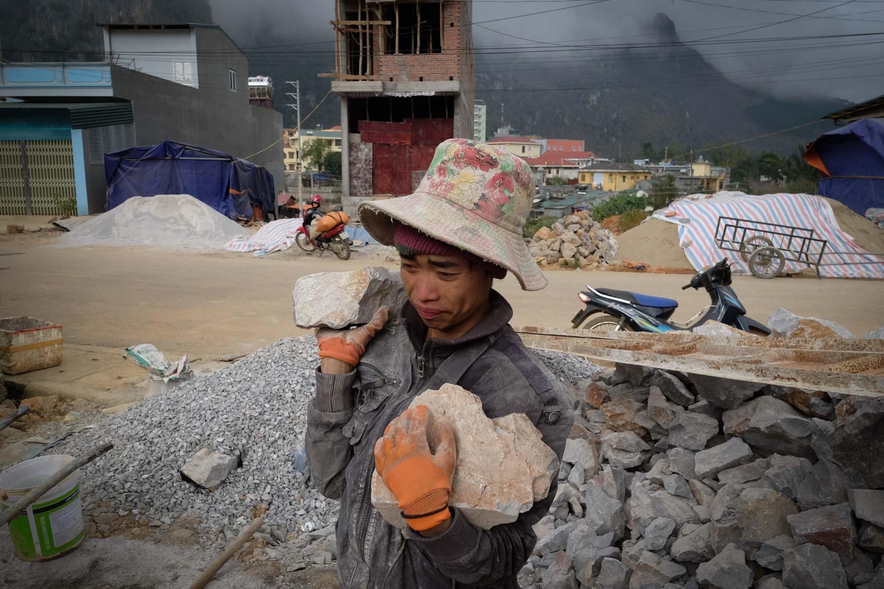 Construction Worker, Đồng Văn Town