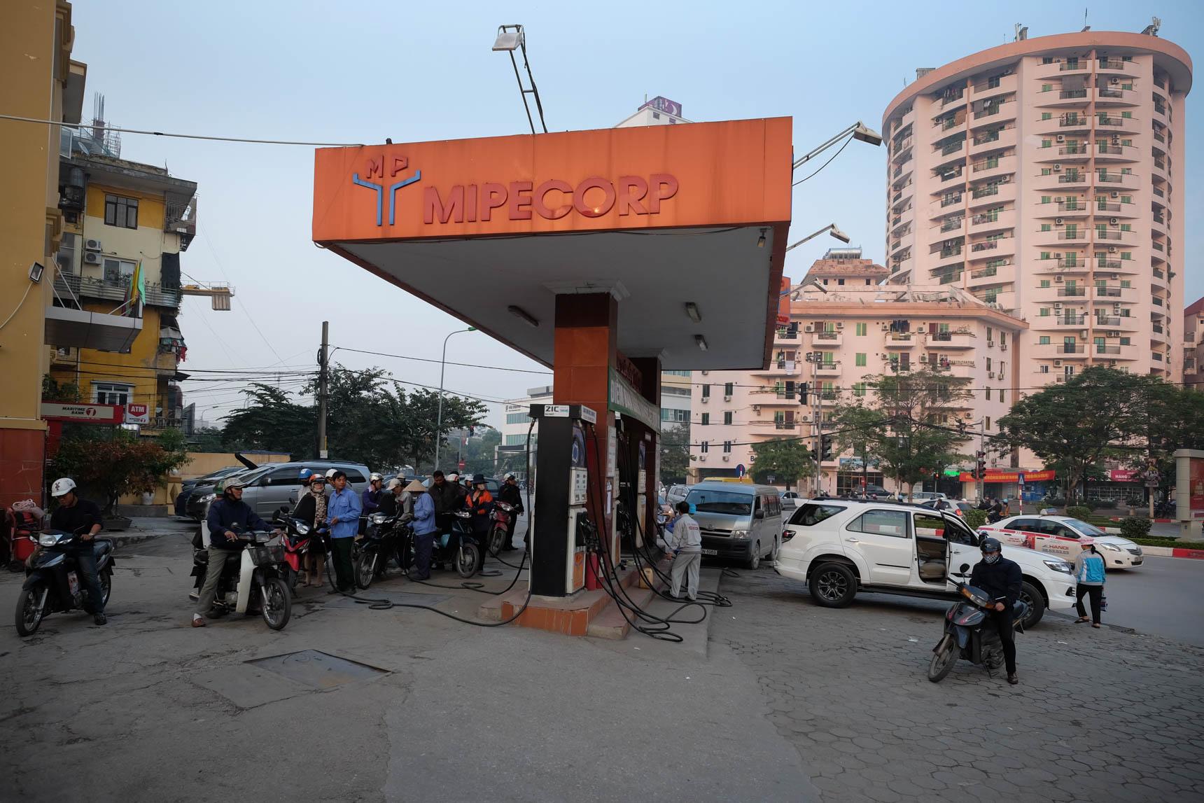 Gas Station in Nghĩa Tân, Cầu Giấy District
