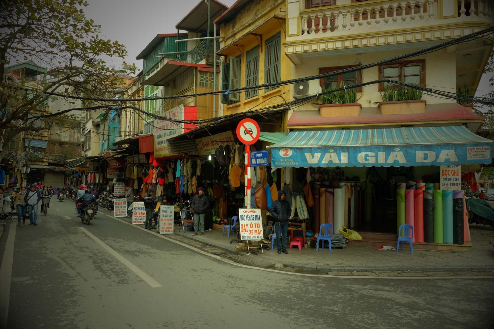 Street Selling Fabrics