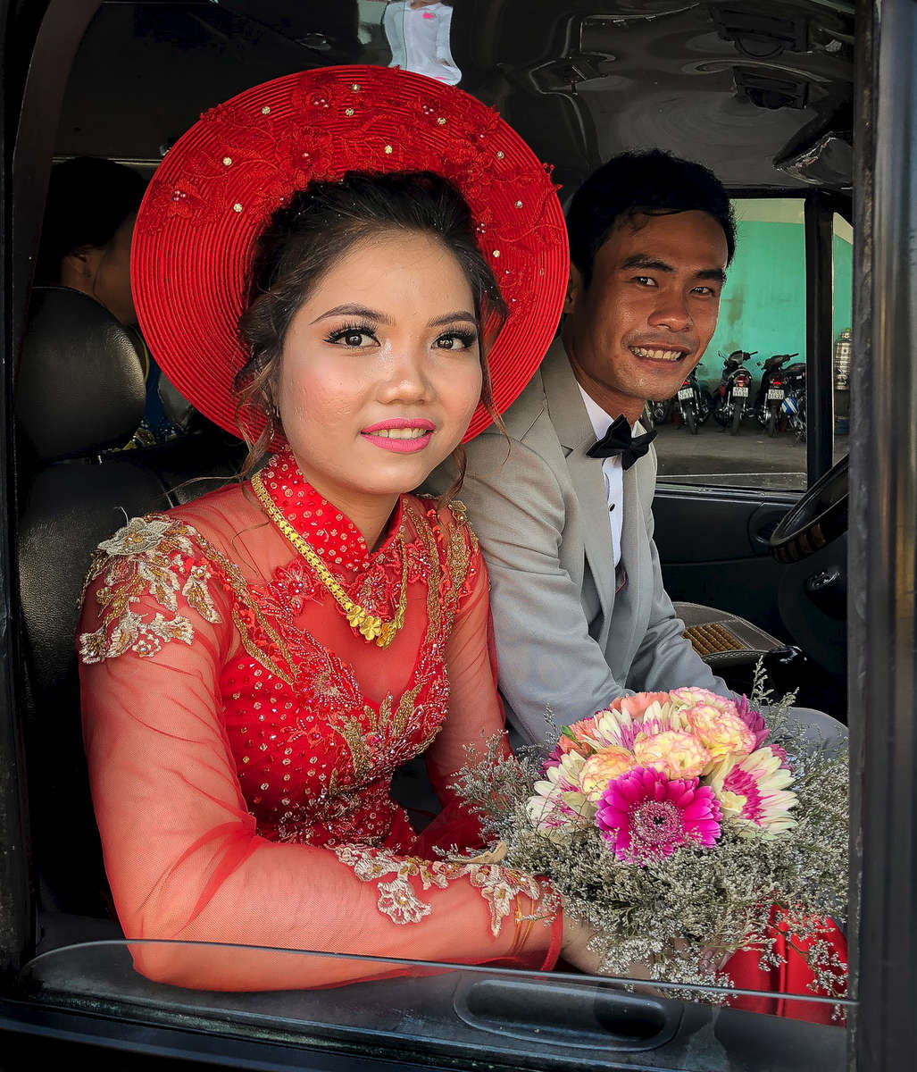 Bride and Groom, Châu Đốc Mekong Delta