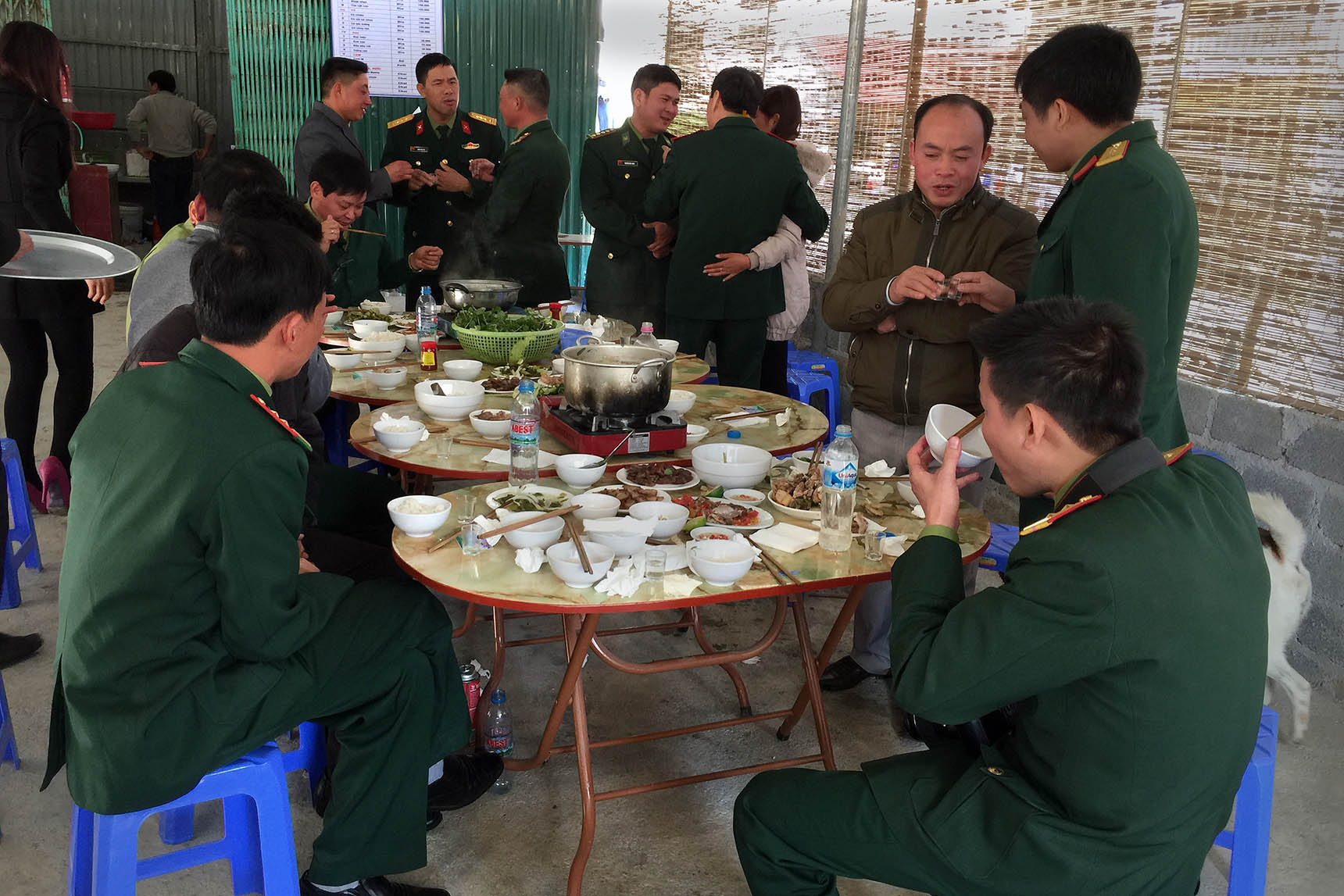 Lũng Cú, Government Officers Lunch