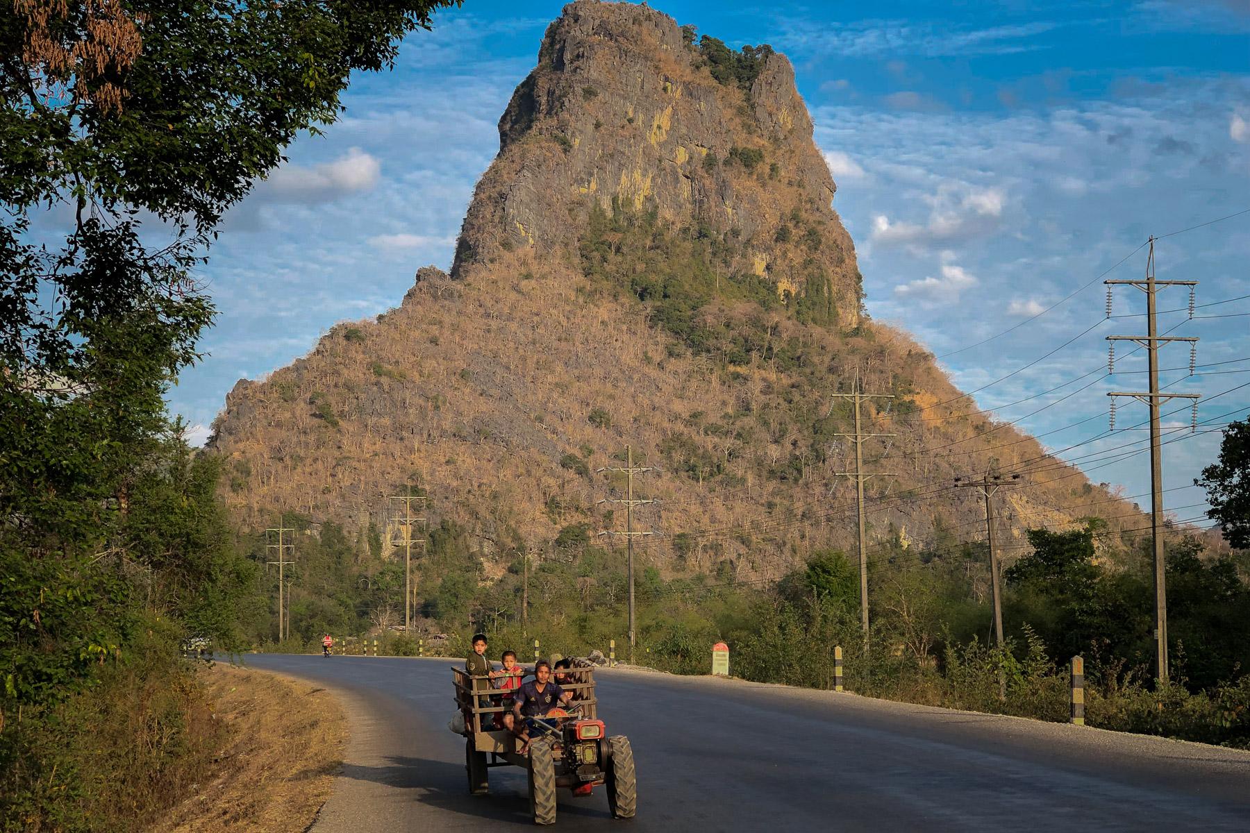 On the Road to Thakhek