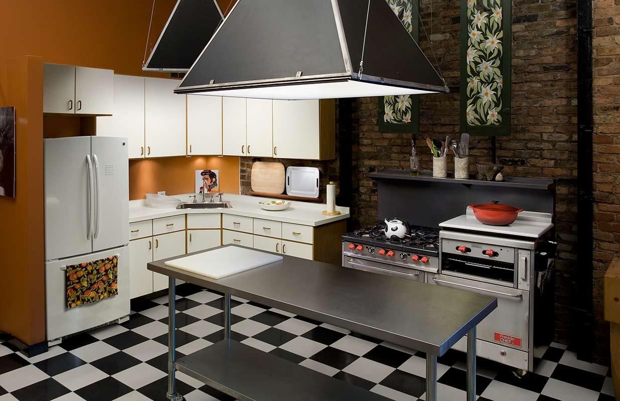 Zack Burris Photography Studio Kitchen