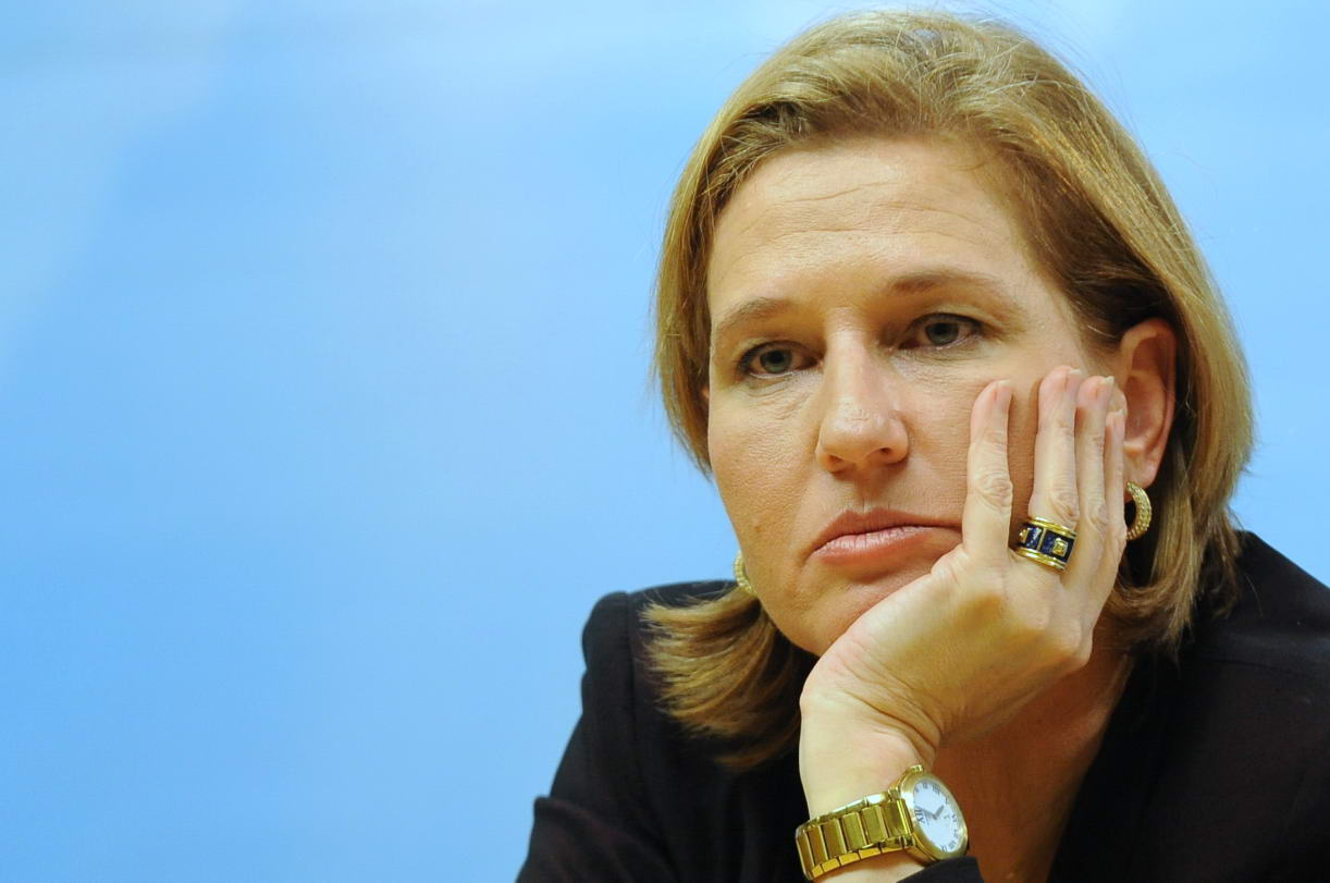 Tzipi Livni Minister of Foreign Affairs of  Israel