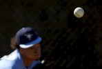 Tampa Bay Rays pitcher Chris Archer throws a pitch during a workout in Port Charlotte, Fla.