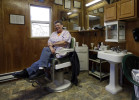 Vickie Croston sits in her ten-foot by ten-foot, one-chair barber shop in Cass, W.Va., a former sawmill town. Croston's shop has no phone, and she doesn't want one. Nor does she care for a cell phone. If cell phone service was allowed, {quote}it would be noisy. The same as everywhere else.{quote}