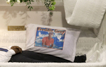 A pillow sits inside Freddie Gray's casket before his funeral in Baltimore. Gray died from spinal injuries about a week after he was arrested and transported in a Baltimore Police Department van.