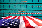 Swimmer compete during the Bulldog Grand Slam swim meet on Thursday, July 10, 2014, in Athens, Ga. (AP Photo/Athens Banner-Herald, AJ Reynolds)