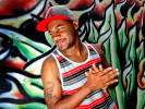 Hip hop artist Tony B. poses for a portait in Athens, Ga., Friday, July 20, 2012. (AJ Reynolds/The Athens Banner-Herald)