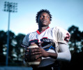 Winder-Barrow running back CeCe Green poses for a portrait on Mondau, October 20, 2014. (AJ Reynolds/Athens Banner-Herald, @ajreynoldsphoto)
